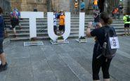 «Ultreia»: reportaje gráfico de la marcha que unió de nuevo Tui con Pontevedra