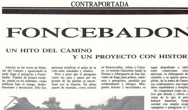 Foncebadón: Un hito del Camino y un proyecto con historia